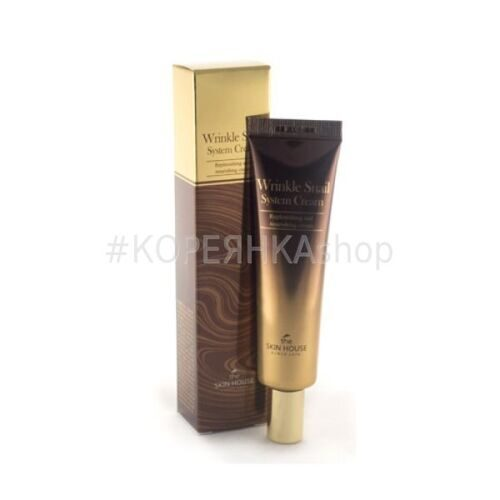 THE SKIN HOUSE Улиточный крем 92% Wrinkle Snail System Cream 30 ml